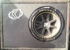 Kicker 10' Sub and Box for Sale in Denver, CO