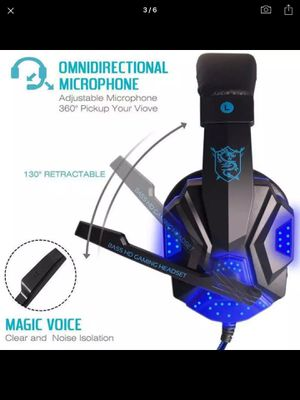 Gaming headphone set for Sale in Riverside, CA