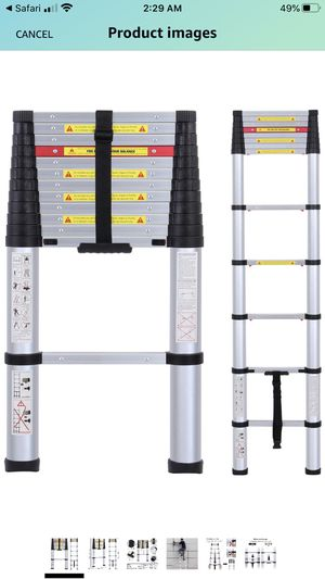 Telescopic ladder for Sale in North Charleston, SC