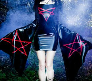 Ultra Sexy Latex Pentagram Dress for Sale in Tampa, FL