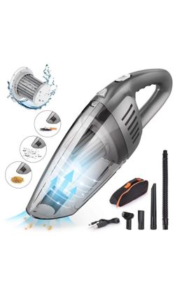 Handheld Car Vacuum Cleaner Cordless with 120W High Power,7000PA USB Charging Portable Auto Vacuum,Strong Aluminum Fan, HEPA Filter,Carry Bag, Wet/Dr for Sale in Corona,  CA