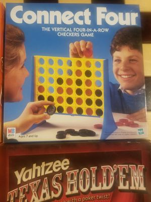 Board Game Lot Connect Four for Sale in Houston, TX
