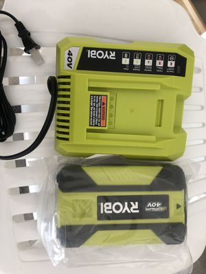 Brand New Ryobi 40V Battery and Charger for sale for Sale in San Ramon, CA