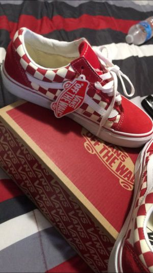 Red Vans for Sale in Fresno, CA