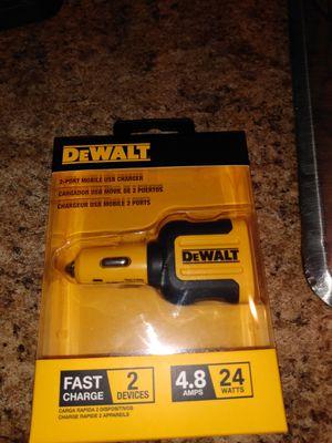 Dewalt 2 port Mobile usb charger brand new for Sale in Winter Springs, FL