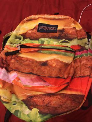 🔥🔥JanSport Hamburger Backpack🔥🔥 for Sale in Riverview, FL