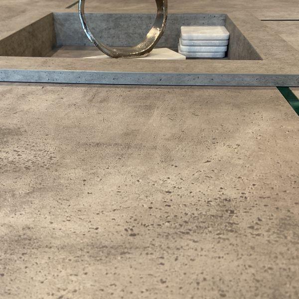 Faux Concrete Coffee Table