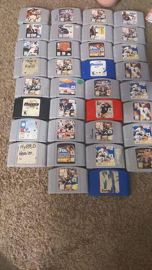 Nintendo 64 games for Sale in Pinellas Park, FL