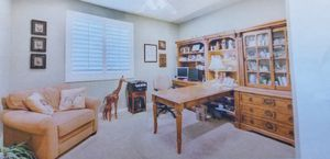 L-shaped 7-piece office set and desk for Sale in Beaumont, CA
