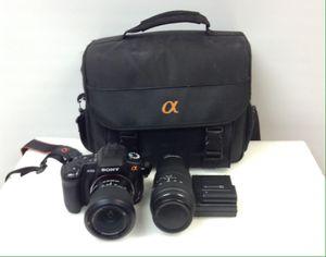Sony Alpha a300 SLR camera kit for Sale in Davie, FL