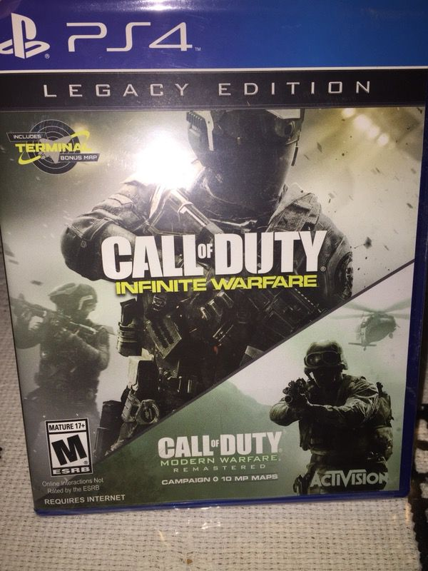 Call of Duty Infinite Warfare plus Call of Duty Modern Warfare Remastered