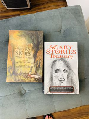 Scary Stories to tell in the dark books both original and new illustrations for Sale in Irvine, CA