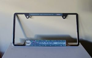 e870122c19fa9 Dale Earnhardt Jr Hendrick Motorsports Chrome License Plate Frame for Sale  in Dana Point