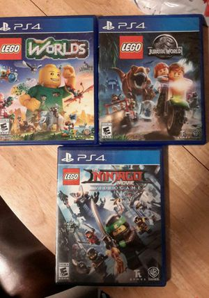 Ps4 games lego for Sale in Los Angeles, CA