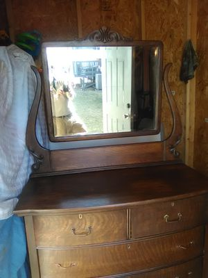 Antique 1900's early solid wood dresser, refinished!! for Sale in Woodbridge, VA