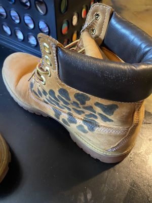 Custom timberland boots size 9.5 for Sale in Stone Mountain, GA