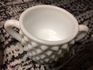 Vintage Fenton Milk Glass Hobnail Mini Sugar Cup for Sale in Las Vegas, NV