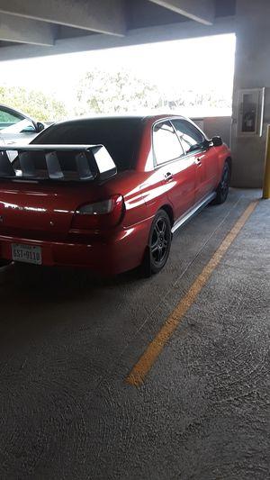 2002 wrx for Sale in San Antonio, TX