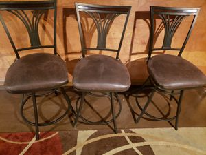 3 bar stools for Sale in Orchard Park, NY