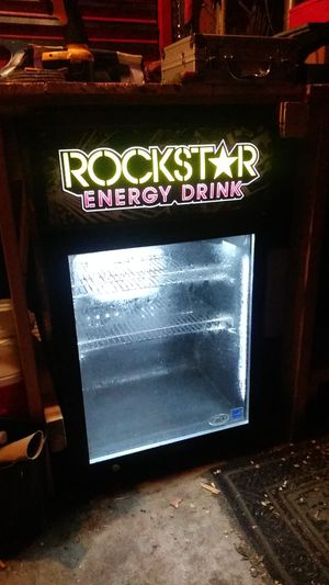 Rockstar Energy Drink fridge for Sale in New Sharon, IA