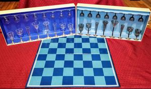 Connoisseur Chess Set Drinking Game! Vintage for Sale in Irondale, AL