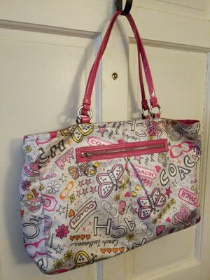 Coach Bag with matching wristlet for Sale in Fairfax, VA
