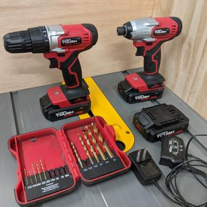 Drill And Impact Wrench With 3 Batteries for Sale in American Fork, UT