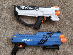 Automatic Rival nerf guns. Like New. for Sale in Woods Cross, UT