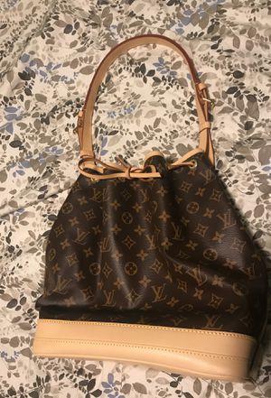 Louis Vuitton Classic Monogram Noe Bb Messenger Brown Canvas Shoulder Bag for Sale in Boston, MA