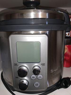 Breville pressure cooker slow cooker steamer for Sale in Frankenmuth, MI