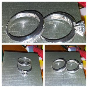 Sterling silver 925 size 6 wedding set for Sale in Severn, MD