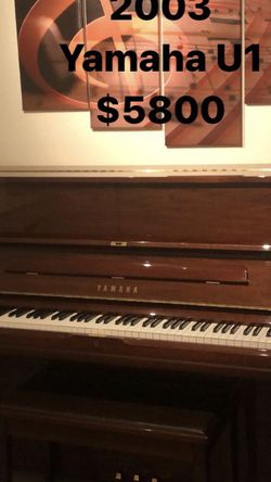 2002 Yamaha U1 Piano for Sale in Burbank,  CA