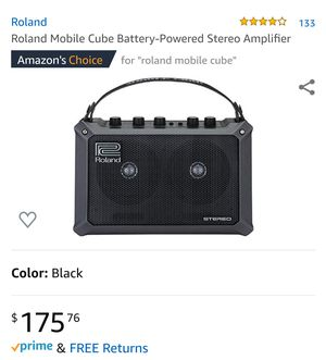 Roland Mobile Cube Battery-Powered Stereo Amplifier for Sale in Los Angeles, CA