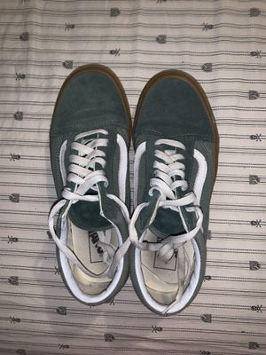Green vans with a gum base for Sale in Lakewood, WA