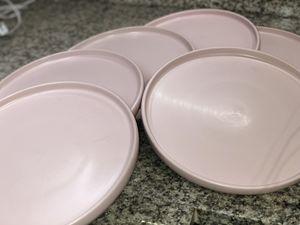 Pink presentation plates for Sale in San Antonio, TX