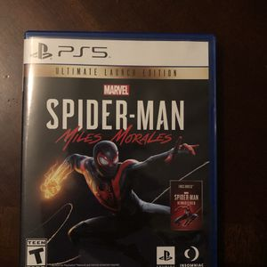 Marvel's Spider-Man: Miles Morales Ultimate Launch Edition - PlayStation 5 for Sale in Garden Grove, CA