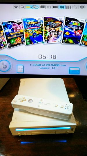 HACKED Nintendo Wii (14+ games) for Sale in The Bronx, NY