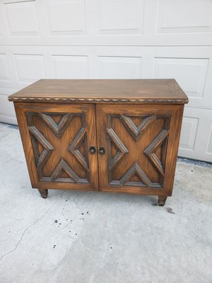 Solid wood buffet/ serving cabinet for Sale in Bakersfield, CA