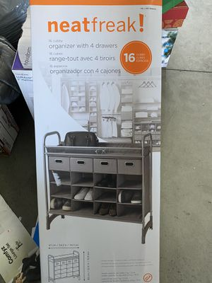Organizer with 4 drawers for Sale in Bakersfield, CA