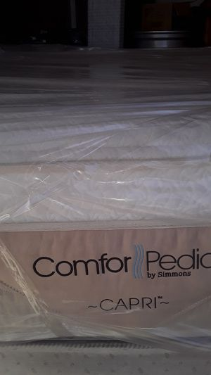 King memory foam mattress and boxspring $235 for Sale in Phoenix, AZ