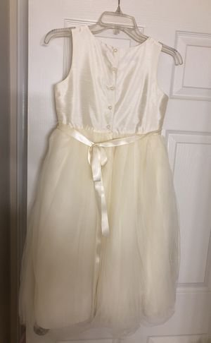 Pippa &Julie Wedding Flower girl dress for sale size 10 for Sale in Frederick, MD