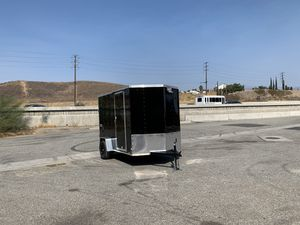 New 6x12 Look Cargo Trailer * 6 inches extra height * for Sale in Redlands, CA