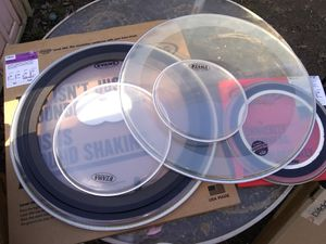 New drum heads for Sale in Evansville, IN