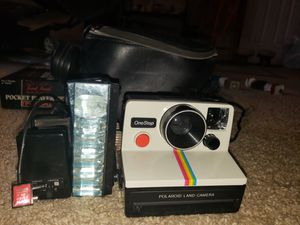 Vintage Polaroid one step camera for Sale in Lisbon, ME