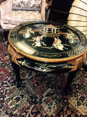 Mother of pearl Asian coffee table for Sale in Las Vegas, NV