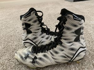 Size 10 UA ClutchFit cleats for Sale in Olney, MD
