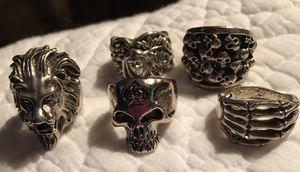 Stainless Steel Men's Rings for Sale in Perry, GA