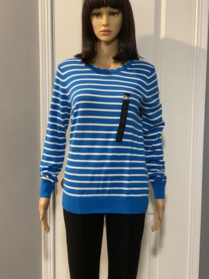 Brand New! Banana Republic Forever Stripe Scallop Crew-Neck Sweater for Sale in Westminster, CA