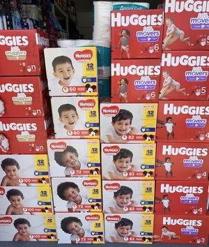 Huggies diapers (box) for Sale in Lehigh Acres, FL