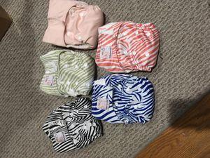 Kawaii newborn cloth diapers for Sale in San Francisco, CA